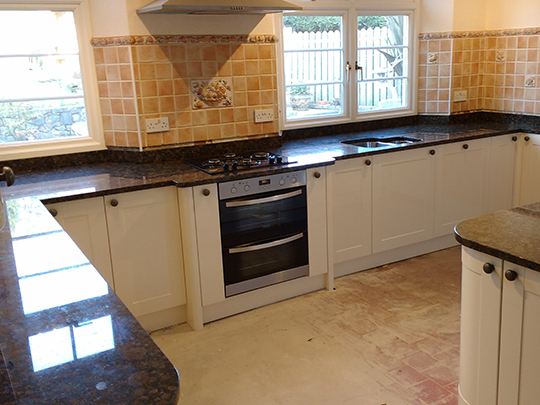 'Flash Blue' Granite Worktop