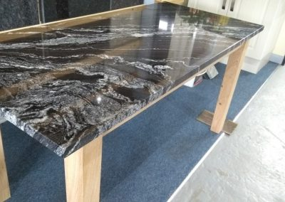Forest Black Dining Table (Small)