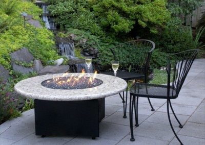Ornamental White Firepit Top (Small)