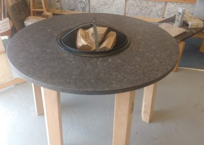Steel Grey Leather FirePit 2 (Small)