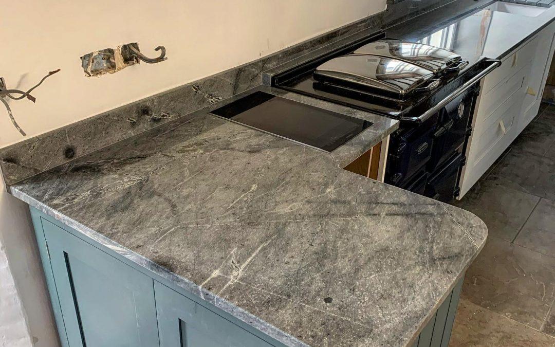 Atlantic Stone Worktop Fitted in Exmoor